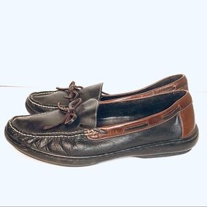 Cole Haan Shoes - Cole Haan Two Tone Lakeside Leather Loafers